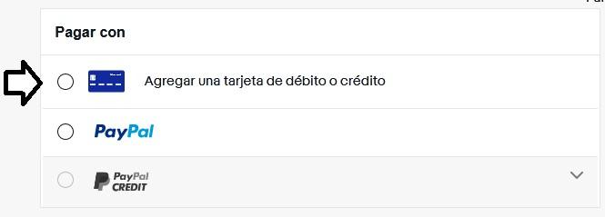 Comprar en eBay Chile con tarjeta de crédito